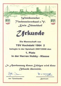 Tischtennis_Urkunde