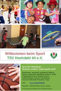 sport flüchtlinge bild