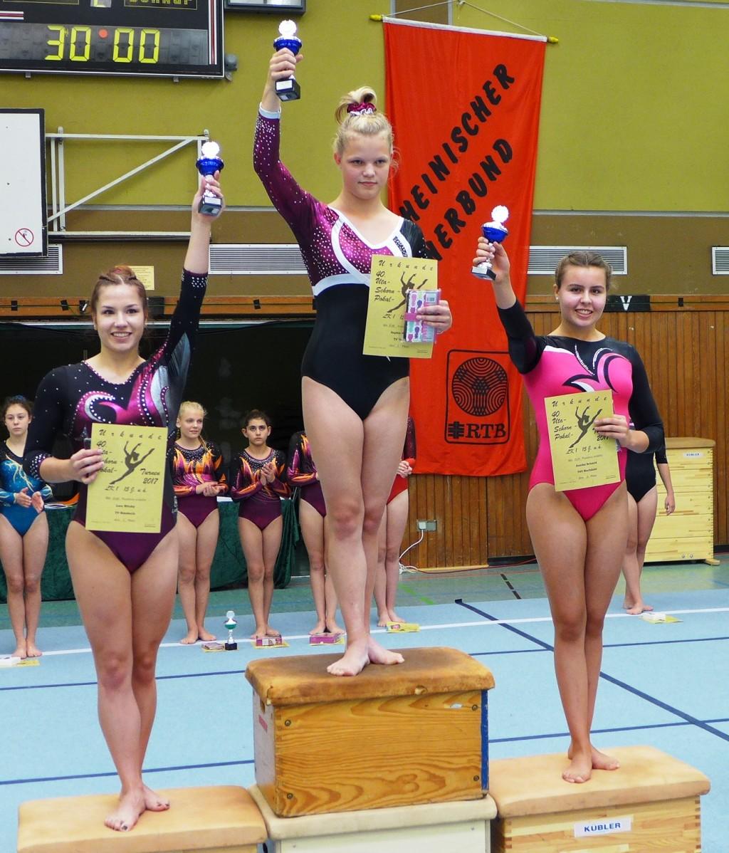 Siegerinnen LK2 - 15 J. u.ä. - 40. Uta-Schorn-Pokal