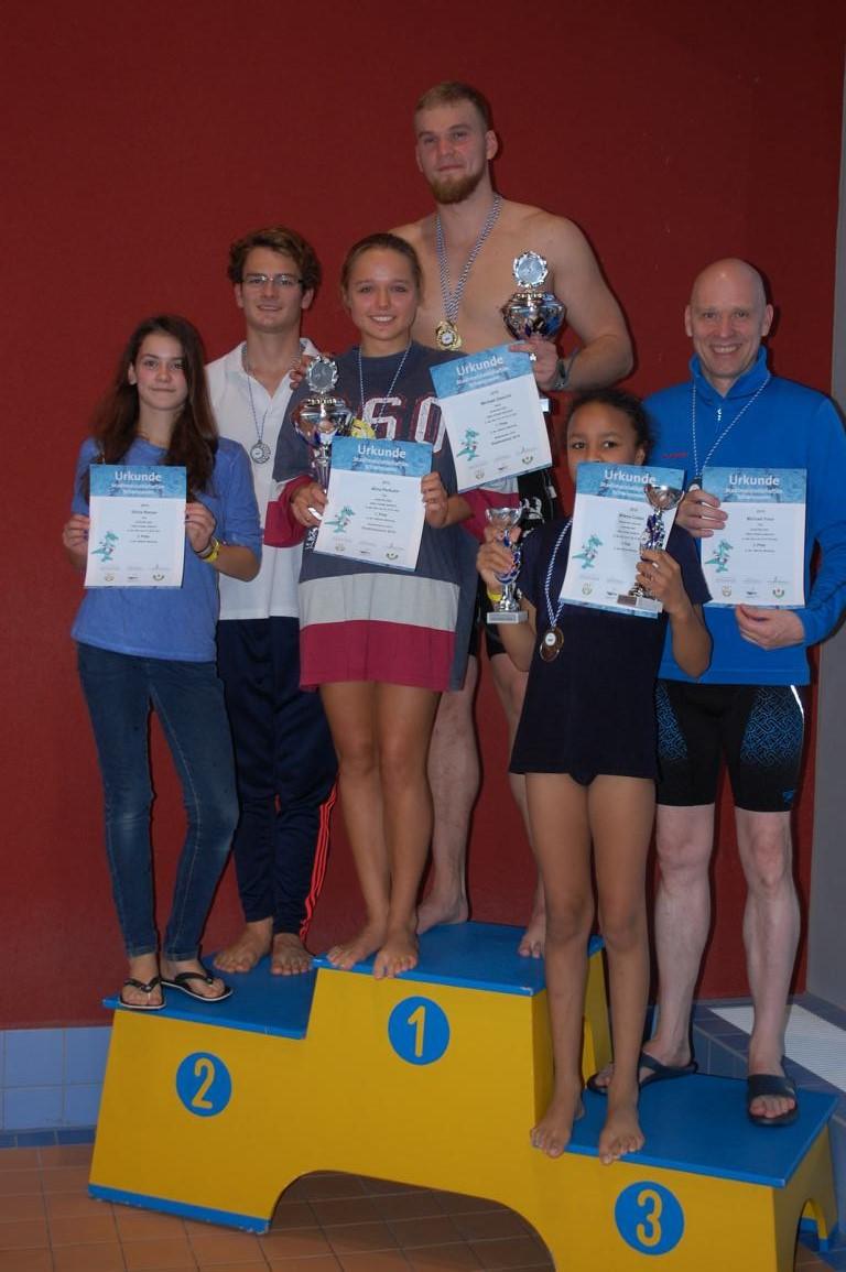 Stadtmeister  2015 im Schwimmen