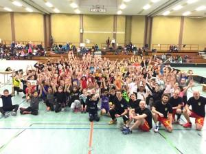 Floorball-Schulturnier