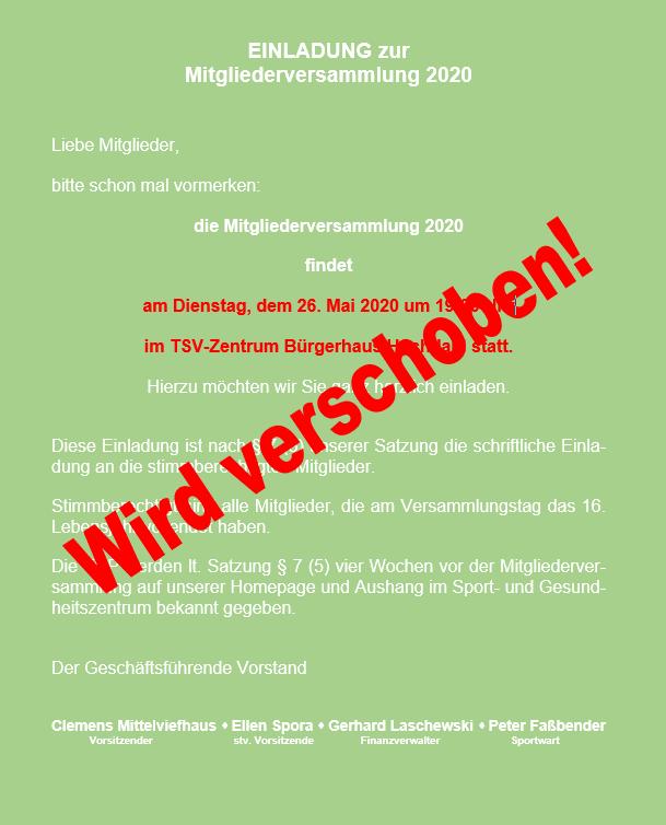 EINLADUNG zur MGV TSV Nachr_